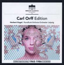 Carl Orff (1895-1982): Carl Orff Edition, 5 CDs