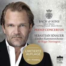 Sebastian Knauer - Bach & Sons, CD