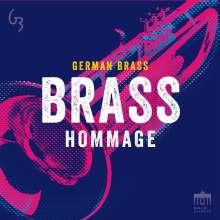 Musik für Blechbläser: German Brass - Hommage, 2 CDs