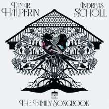 Andreas Scholl & Tamar Halperin - The Family Songbook, CD