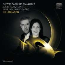 Franz Liszt (1811-1886): Klaviersonate h-moll (von Saint-Saens arrangiert für 2 Klaviere), CD