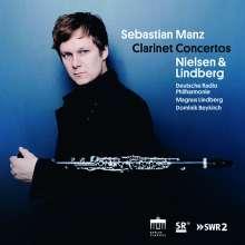 Sebastian Manz - Clarinet Concertos, CD