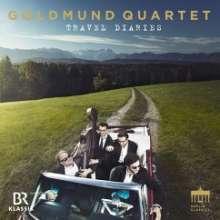 Goldmund Quartett - Travel Diaries, CD