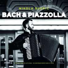 Nikola Djoric - Bach & Piazzolla, CD