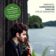 Loris Tjeknavorian (geb. 1937): Violinkonzert op.1, CD