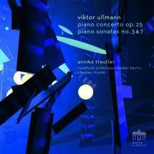 Viktor Ullmann (1898-1944): Klavierkonzert op.25, 1 CD und 1 Blu-ray Audio