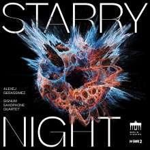 Signum Saxophone Quartet - Starry Night (Werke für Percussion & Saxophonquartett), CD