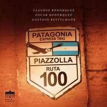 Astor Piazzolla (1921-1992): Die 4 Jahreszeiten für Violine,Cello & Klavier, CD