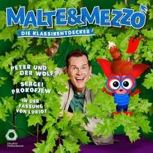 Malte & Mezzo - Die Klassikentdecker: Peter und der Wolf (Textfassung von Loriot), CD