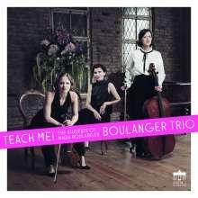 Boulanger Trio - Teach Me!, CD