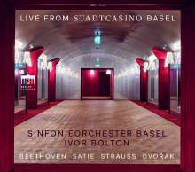 Sinfonieorchester Basel - Live from Stadtcasino Basel, CD