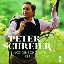 Peter Schreier singt die schönsten Klassikschlager, 5 CDs