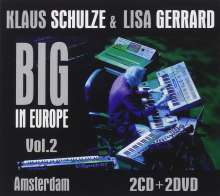Klaus Schulze & Lisa Gerrard: Big In Europe Vol. 2: Amsterdam 2009 (2 CD + 2 DVD), 4 CDs