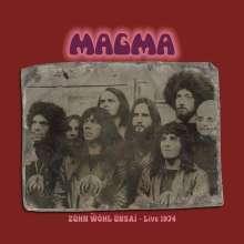 Magma: Zühn Wöhl Ünsai - Live 1974 (180g) (Limited-Edition), 2 LPs