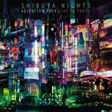 Agitation Free: Shibuya Nights - Live In Tokyo (Limited-Numbered-Edition) (Red/White Marbled Vinyl), 2 LPs