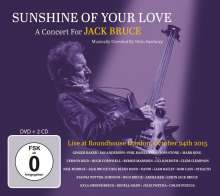 Sunshine Of Your Love: A Concert For Jack Bruce - Live At Roundhouse London, October 24th 2015, 3 CDs