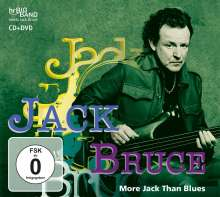 Jack Bruce: More Jack Than Blues - Live At 37th German Jazzfestival Frankfurt 2006, 1 CD und 1 DVD