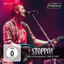 Stoppok: Live At Rockpalast 1990 & 1997, 2 CDs und 1 DVD