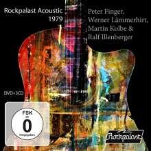 Peter Finger, Werner Lämmerhirt, Martin Kolbe & Ralf Illenberger: Rockpalast Acoustic 1979, 3 CDs und 1 DVD