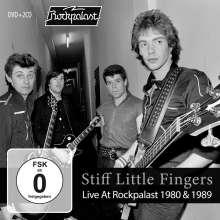 Stiff Little Fingers: Live At Rockpalast 1980 & 1989, 2 CDs und 1 DVD