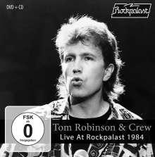 Tom Robinson: Live At Rockpalast 1984, 1 CD und 1 DVD