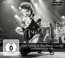 Paul Young: Live At Rockpalast 1985, 1 CD und 1 DVD