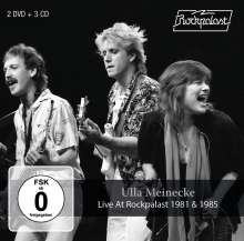 Ulla Meinecke: Live At Rockpalast 1981 & 1985, 5 CDs