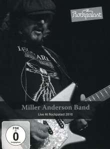 Miller Anderson: Live At Rockpalast 2010, DVD