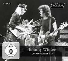 Johnny Winter: Live At Rockpalast 1979, 2 CDs und 1 DVD