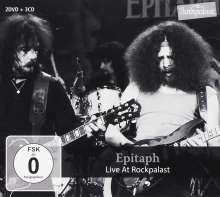 Epitaph (Deutschland): Live At Rockpalast, 3 CDs und 2 DVDs