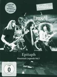 Epitaph (Deutschland): Rockpalast (Krautrock Legends Vol. 1), 2 DVDs