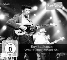 Roy Buchanan: Live At Rockpalast: Hamburg 1985, 1 CD und 1 DVD