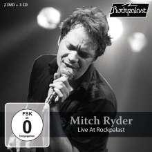 Mitch Ryder: Live At Rockpalast: Grugahalle Essen, 1979 / Burg Satzvey, 2004 (Boxset), 3 CDs