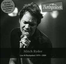 Mitch Ryder: Live At Rockpalast 1979 & 2004, 3 CDs