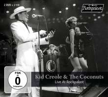 Kid Creole & The Coconuts: Live At Rockpalast 1982, 4 CDs