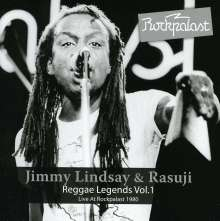 Jimmy Lindsay & Rasuji: Reggae Legends Vol.1: Live 1980, CD