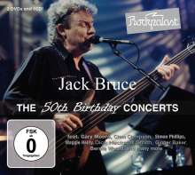 Jack Bruce: Rockpalast: The 50th Birthday Concerts (CD + 2DVD), 3 DVDs