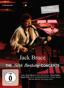 Jack Bruce: Rockpalast: The 50th Birthday Concerts, 2 DVDs