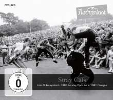 Stray Cats: Live At Rockpalast 1981 & 1983, 1 DVD und 2 CDs