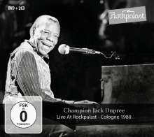 Champion Jack Dupree: Live At Rockpalast 1980, 3 CDs