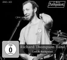 Richard Thompson: Live At Rockpalast 1983 & 1984, 3 CDs und 2 DVDs
