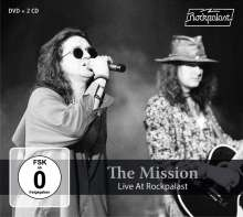 The Mission: Live At Rockpalast 1990 & 1995, 2 CDs