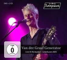 Van Der Graaf Generator: Live At Rockpalast - Leverkusen 2005, 2 CDs und 1 DVD