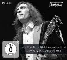 John Cipollina / Nick Gravenites Band: Live At Rockpalast - Dortmund 1980, 2 CDs und 1 DVD