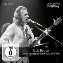 Jack Bruce: Live At Rockpalast 1980, 1983 And 1990, 7 CDs