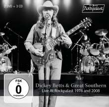 Dickey Betts: Live At Rockpalast 1978 And 2008, 5 CDs
