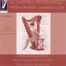 British Chamber Music for Flute,Viola and Harp, CD