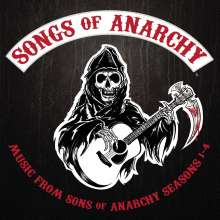 Sons Of Anarchy: Songs Of Anarchy: Seasons 1-4, CD