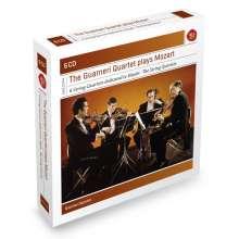 "Wolfgang Amadeus Mozart (1756-1791): Streichquartette Nr.14-19 ""Haydn-Quartette"", 6 CDs"
