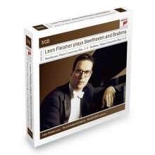 Leon Fleisher plays Beethoven and Brahms, 5 CDs